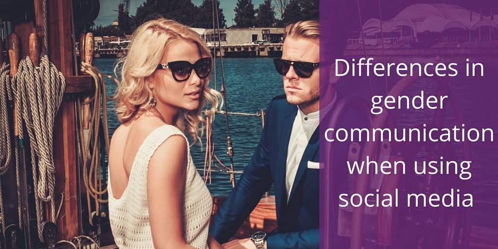Differences in gender communication in social media marketing