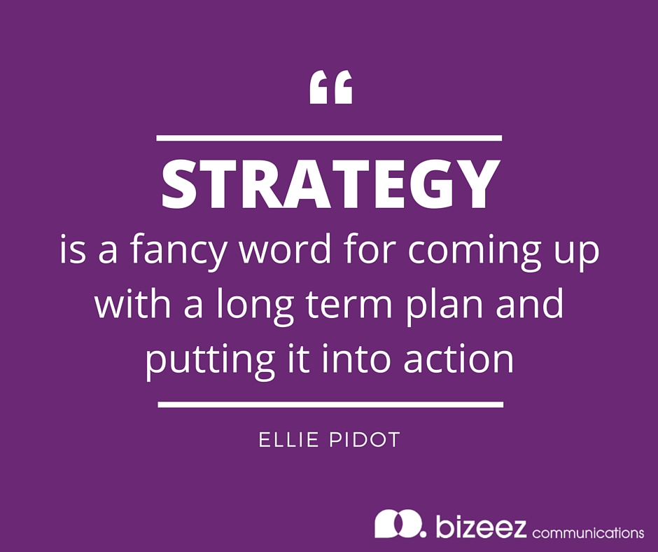 social media planning and strategy quote