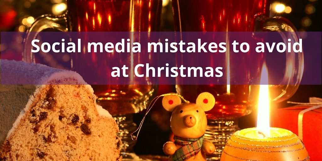 Food and Wine: Mistakes to avoid with social media at Christmas