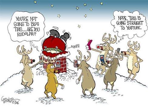 Social media during the silly season
